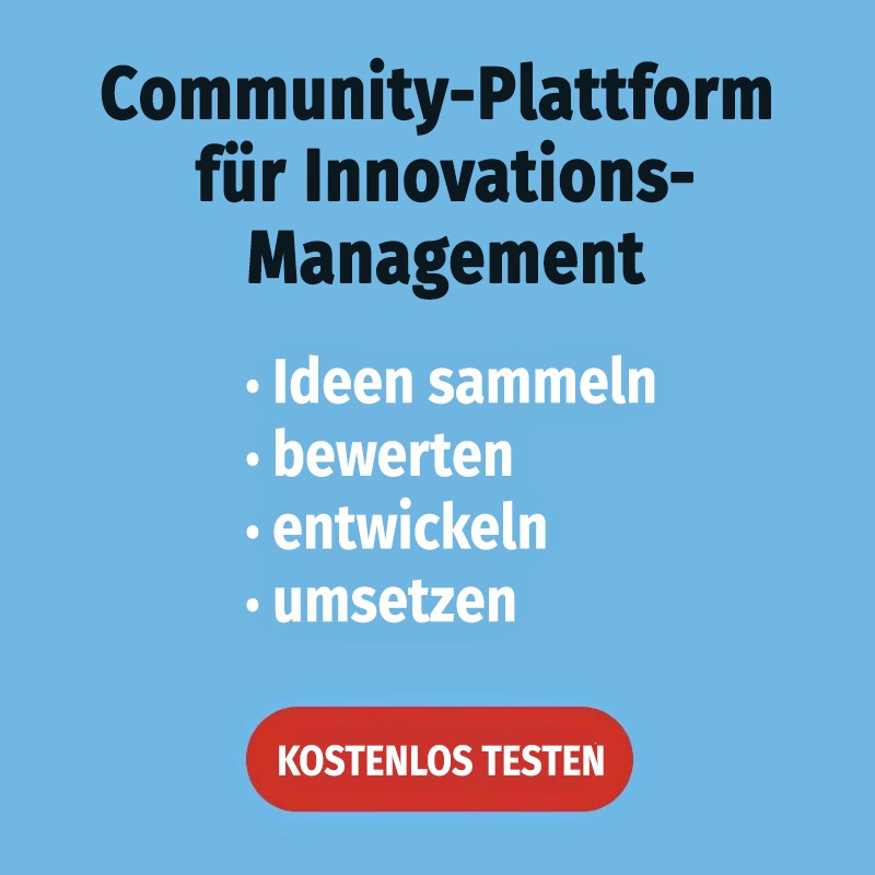 Innovationsmanagement & Ideenmanagement Software testen